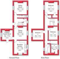 Floor Plan in Corporate Colours No.1