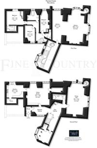 Large Castle Flor Plan