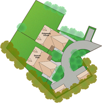 Easy to Read Site Plan